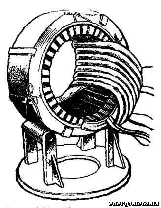 Технология укладки всыпной двухслойной обмотки электродвигателя.