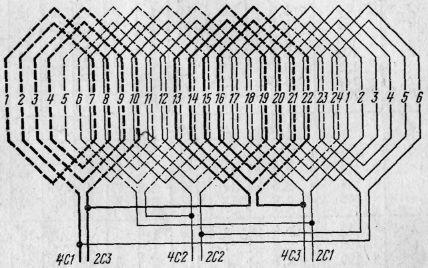 Двухскоростные асинхронные двигатели схема фото 396