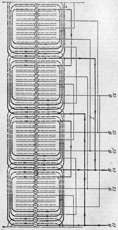 Схема двухслойной